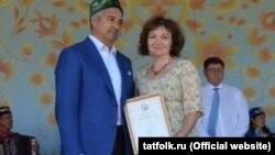 Васил Шәйхразиев һәм Фәридә Хәмидуллина