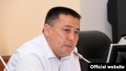 """""""Ак жол"""" партиясынын депутаты Улукбек Ормонов"""