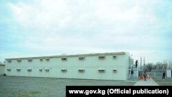 """Обсервация, развернутая рядом с аэропортом """"Манас""""."""