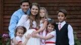 Belarus -- actress Hanna Kharlanchuk-Yuzhakova with family