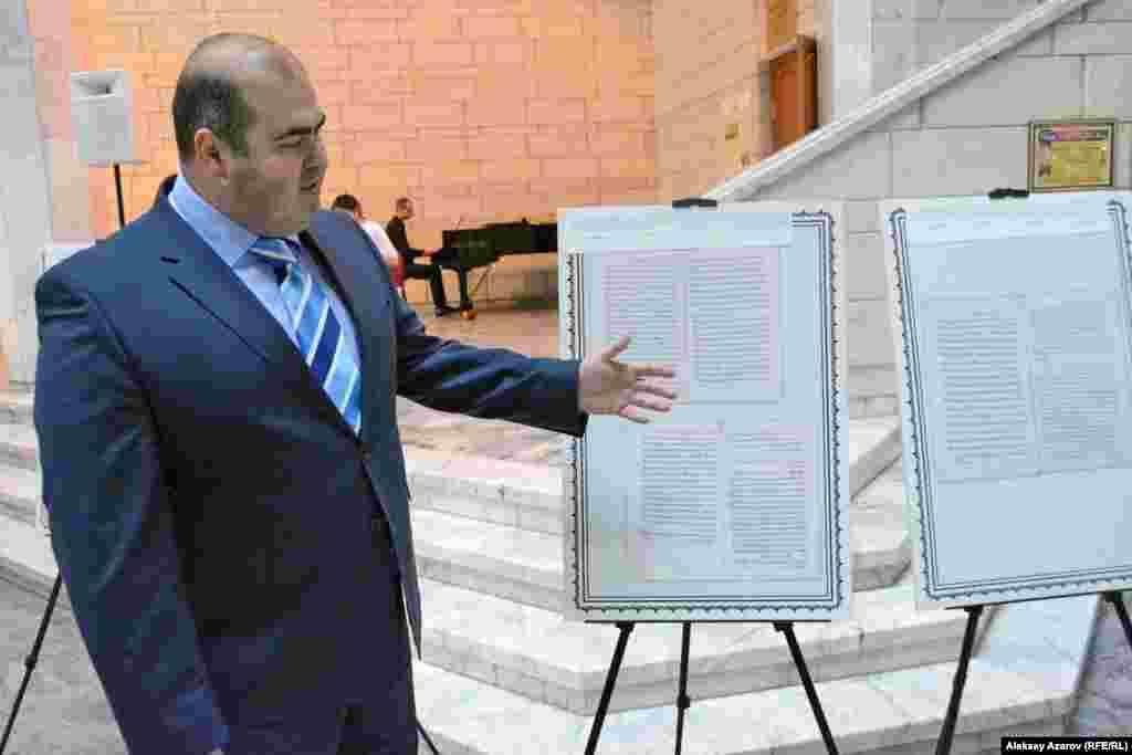 Профессор Вакур Сумер (Турция) – директор Евразийского научно-исследовательского института, созданного в Алматы в 2014 году.