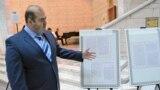 Баннер выставки «Архивные документы о связях Османского государства со среднеазиатскими ханствами».