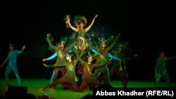 عرض إفتتاح فعاليات مهرجان بغداد عاصمة الثقافة العربية