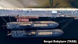Submarine nucleare în portul Severodvinsk