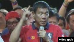 Presidenti i Filipineve, Rodrigo Duterte.