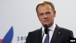 President of the European Council Donald Tusk (file photo)
