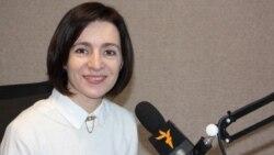 Maia Sandu explică opțiunile politice ale Blocului ACUM