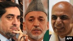 Dr. Abdullah Abdullah (left) and Ashraf Ghani (right) are the two leading candidates hoping to succeed Hamid Karzai as president.