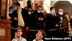 Proslava pravoslavnog Božića usred pandemije