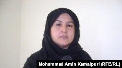 رنا ترین یکی از سناتوران مشرانو جرگه افغانستان