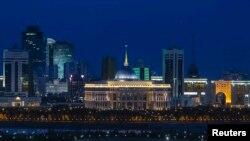 Центр Астаны, столицы Казахстана.