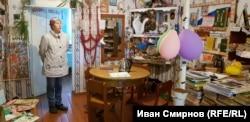 Библиотека в Юртах-Константиновых.