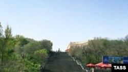 Один з символів Одеси - Потьомкінські Сходи