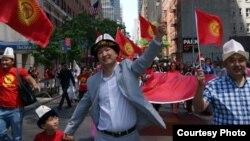 Парад тюркских народов в Нью-Йорке, 2012. Фото предоставлено Kyrgyz Club