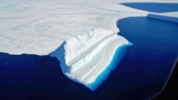 Pamje nga Antarktida.