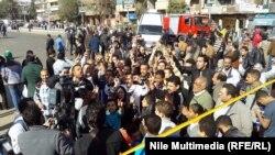 Egjiptianët nëpër rrugët e kryeqytetit Kajro në trevjetorin e përmbysjes së Mubarakut