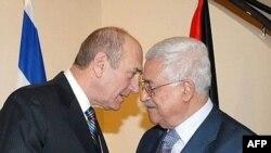 اولمرت با عباس در مورد بحران نوار غزه گفت و گو کرد.