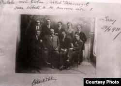 Antonin Ciolan cu dirijorul ceh Oskar Nedbal