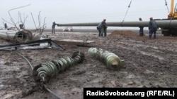 Відновлення електроопор неподалік Чаплинки Херсонської області