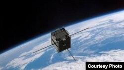 Space -- satellite PW-sat, undated