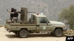 Saudijska granična patrola na granici s Jemenom