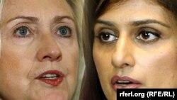 Sekretarja amerikane e Shtetit, Hillary Clinton dhe ministrja e Jashtme e Pakistanit, Hina Rabbani Khar