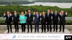 Lideri Grupe sedam industrijski najrazvijenih zemalja sveta u Japanu na samitu