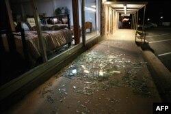 Последствия взрыва в Техасе