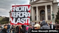 Četvrti dan 'Protesta protiv diktature'