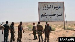 آل بوکمال در استان دیرالزور واقع است