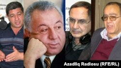 Nizami Cəfərov, Hüseynbala Mirələmov, Rəhman Bədəlov və Ədalət Əsgəroğlu