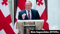 Георгий Маргвелашвили был краток. Референдума, заявил он, не будет