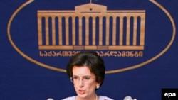 Нино Бурджанадзе, Тбилиси, 2 ноября 2007