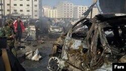 Սիրիա - Դամասկոսում տեղի ունեցած պայթյունների հետևանքները, 31-ը հունվարի, 2016թ․