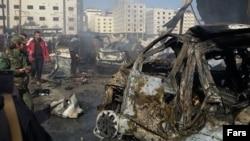 Дамаск 31-январдагы жардыруудан кийин.