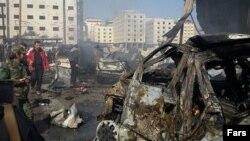 Наслідки вибухів в Дамаску, 31 січня 2016 року