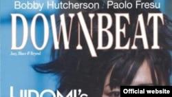"Обложка журнала ""Downbeat"""