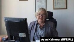 Глава прессозащитной организации «Адил соз» Тамара Калеева