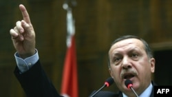 Turkish Prime Minister Recep Tayyip Erdogan (file photo)