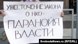 Хөкүмәттән бәйсез оешмалар эшчәнлеген чикләүче канунга каршы чара, 2012 ел, Мәскәү
