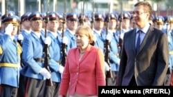 Merkelova u Beogradu