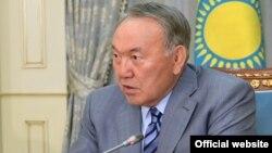 Қазақстан президенті Нұрсултан Назарбаев. Астана, 2 маусым 2017 жыл.