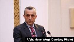د ولسمشر محمد اشرف غني لومړی مرستیال امرالله صالح