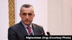 امرالله صالح معاون اول محمداشرف غنی در انتخابات ریاست جمهوری
