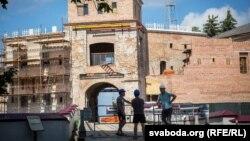 Так выглядае Стары замак уГорадні ўчэрвені 2019 году