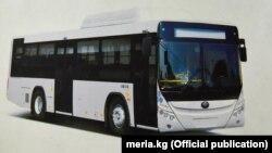 Автобус Yutong ZK 6108 HGH, 60 единиц которых компания ZHENGZHOU YUTONGBUS CO., LTD поставит в Бишкек.