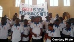 Парада: мыць рукі з мылам, бо Эбола — рэальнасьць