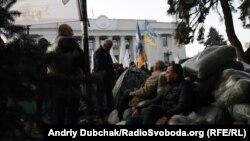 Акція протесту, організована партією «Рух нових сил», низкою інших сил. Київ, жовтень 2017 року