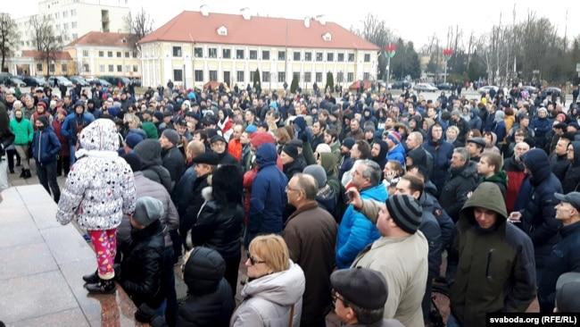 «Марш недармаедаў» у Горадні, 15 сакавіка 2017