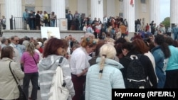 Протест против генплана в Севастополе, 12 мая 2017